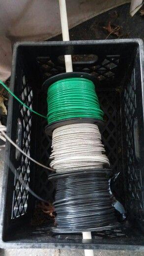 Pin on great work ideas Wiring Spool on
