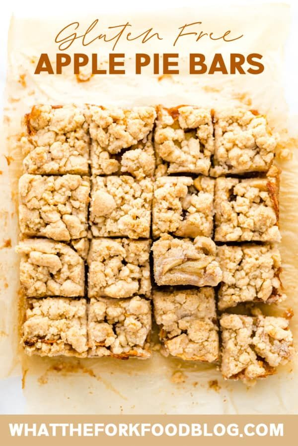 Easy Recipe for Gluten Free Apple Pie Bars