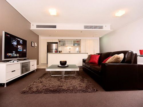 Awesome Living Room Design Brown Sofa Carpet   Google Search Part 25