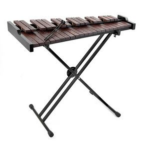 The Rosewood Xylophone consists of 37 rosewood bars (3 octaves), a metal stand that comes complete with mallets and a carry case. Its bright sound is perfect for use from the classroom all the way up to orchestral composition, with a unique voice that will enhance the sound of any ensemble. £179.99