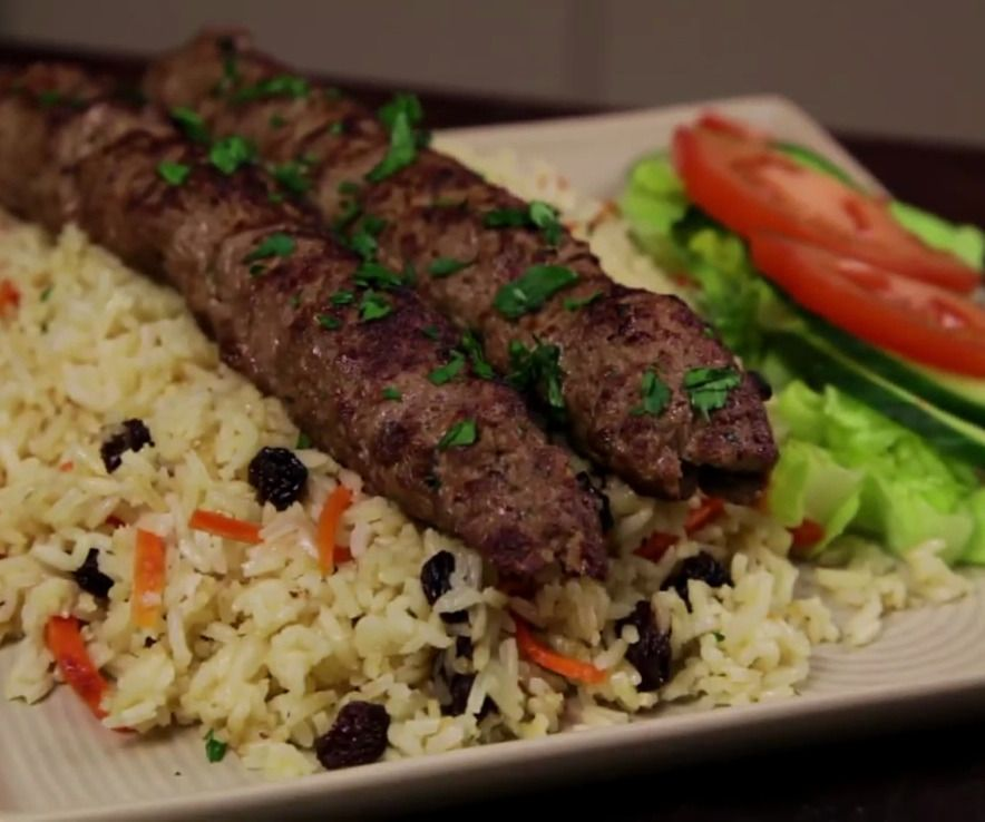 How To Cook Afghan Style Lamb Kofta Kebabs Afghan Food Recipes Afghan Kabob Recipe Kofta Recipe