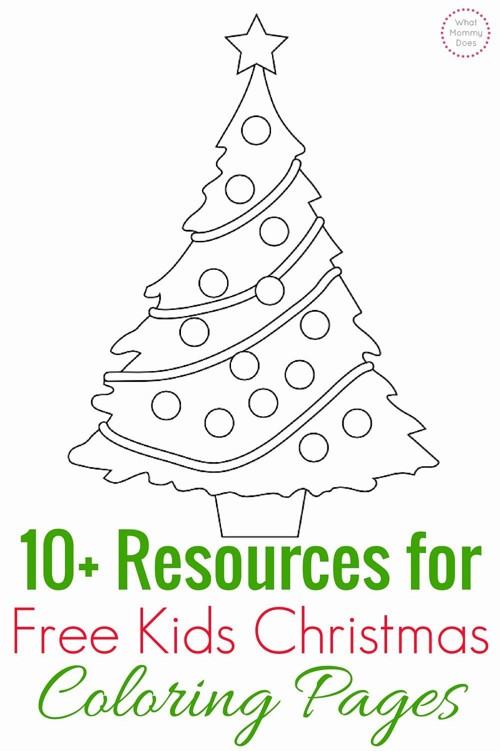 Merry Christmas Tree Coloring Page New Free Kids Christmas Coloring Pages In 2020 Christmas Coloring Pages Kids Christmas Coloring Pages Merry Christmas Coloring Pages