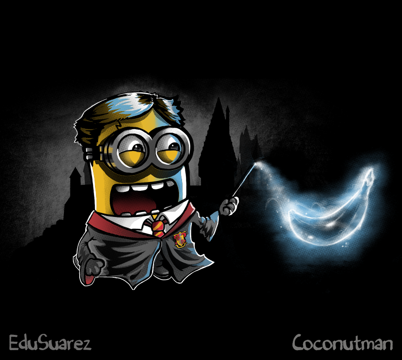 bfb509f91 #minion #harry #potter #harrypotter #shirt #tshirt #tee #apparel #mashup  #mash #cutekawaii #cuteadorable #cute #kawaii #adorable #spell #spells # hogwarts ...