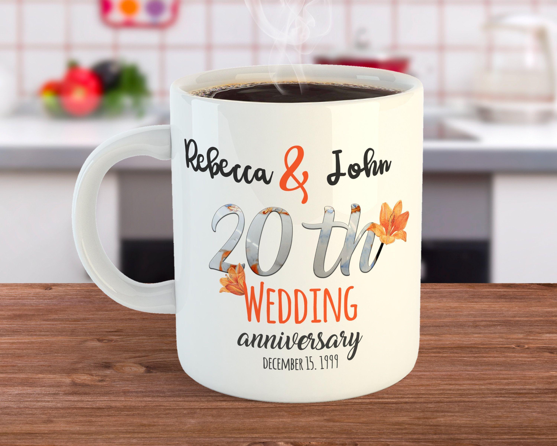 20th Anniversary Gift 20 Year Anniversary Mug China