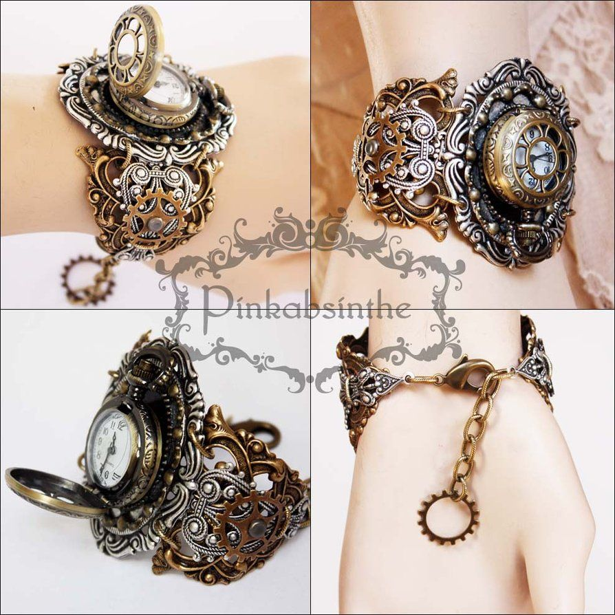 watch steampunk rudder pocket locket by caishenbeads pin pirate lockets