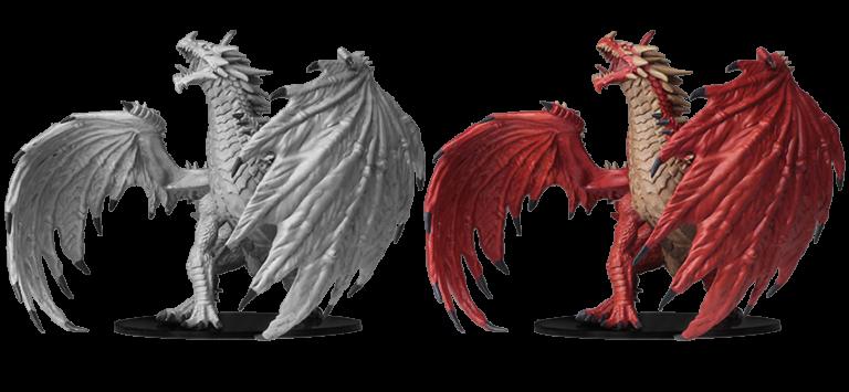 WizKids Pathfinder Battles Gargantuan White Dragon