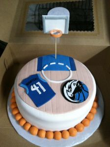 Phenomenal Dallas Mavericks Cake With Images Party Cakes Different Cakes Funny Birthday Cards Online Necthendildamsfinfo