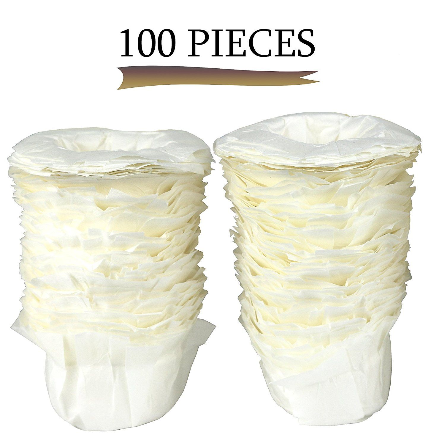 Greenco 100 Disposable Replacement Kcup Filters