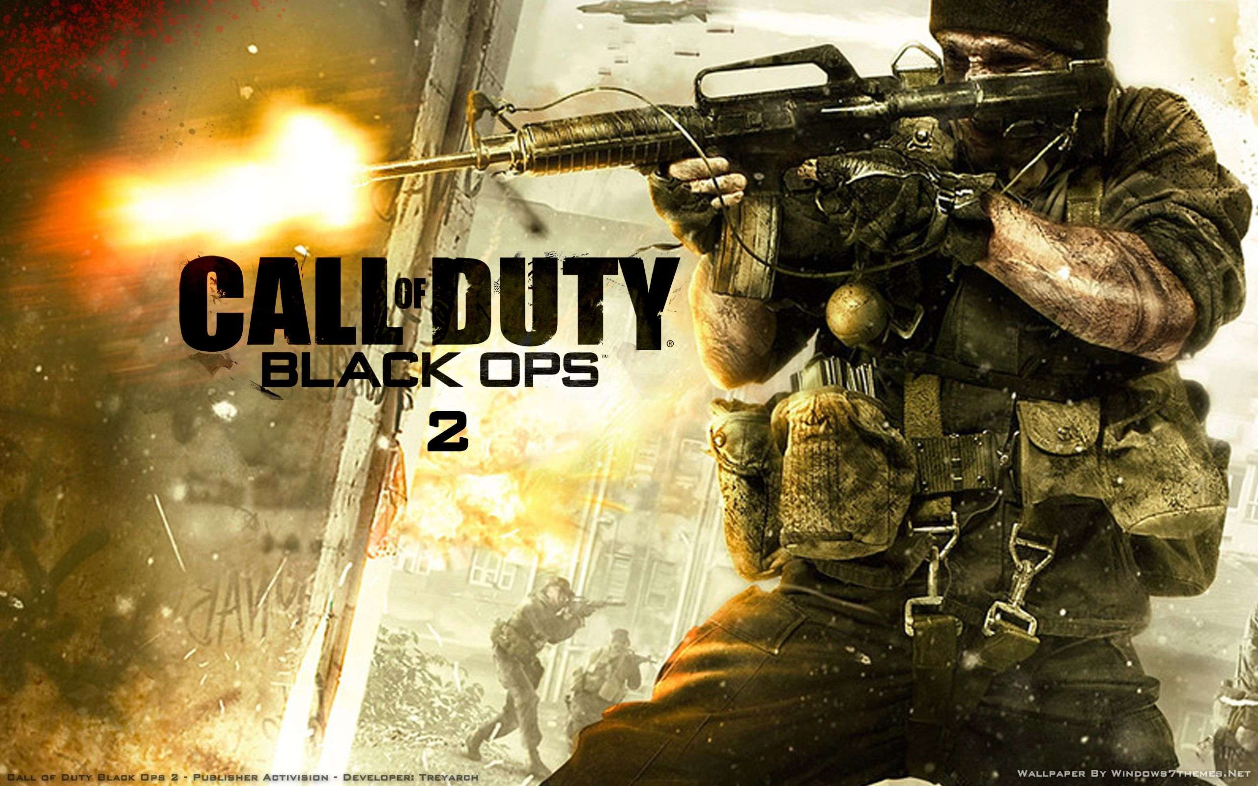 Call Of Duty Black Ops 2 Wallpaper 1 With Images Call Of Duty