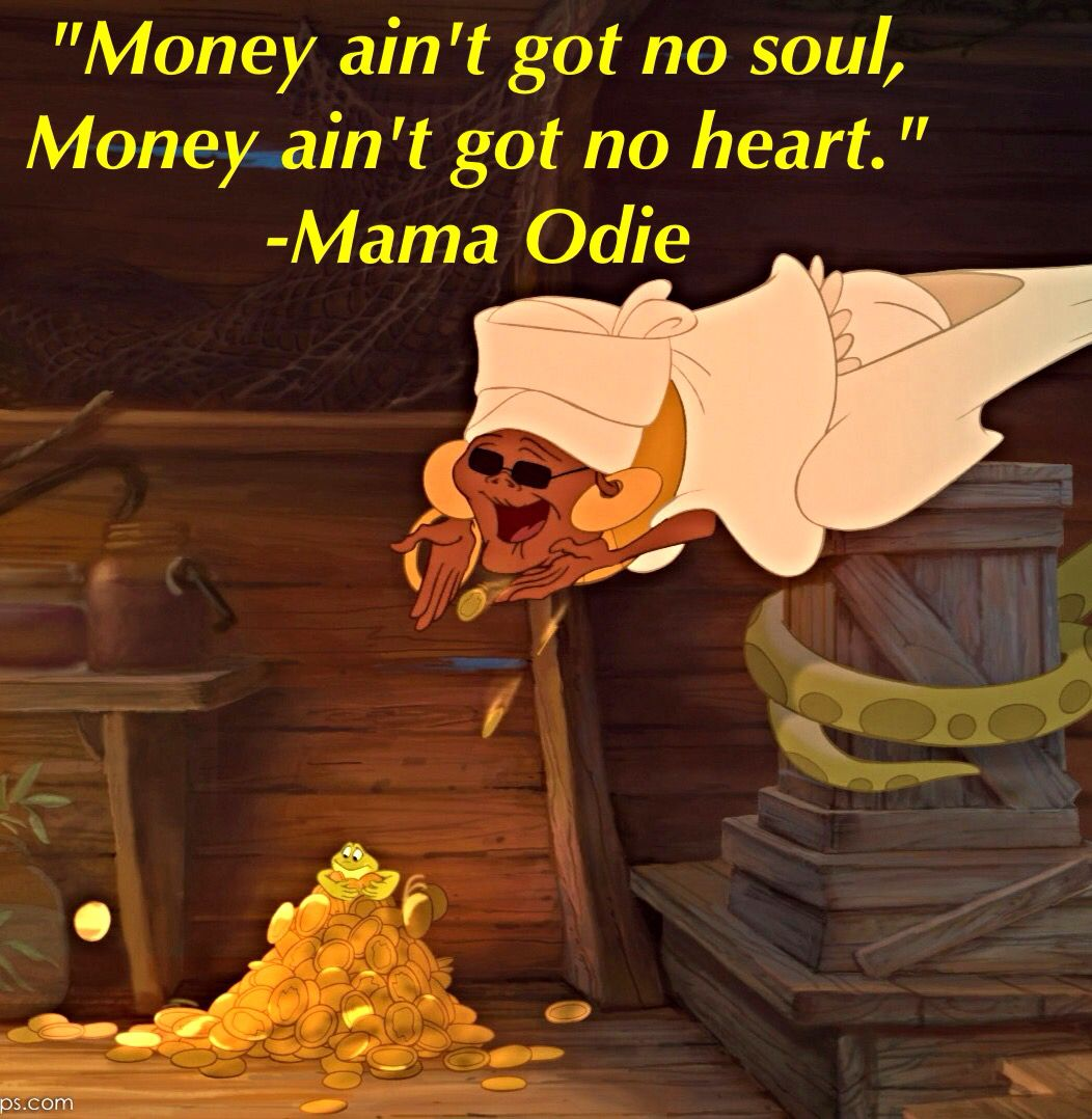 Mama Odie Princess And The Frog Disney Princess Quotes Disney