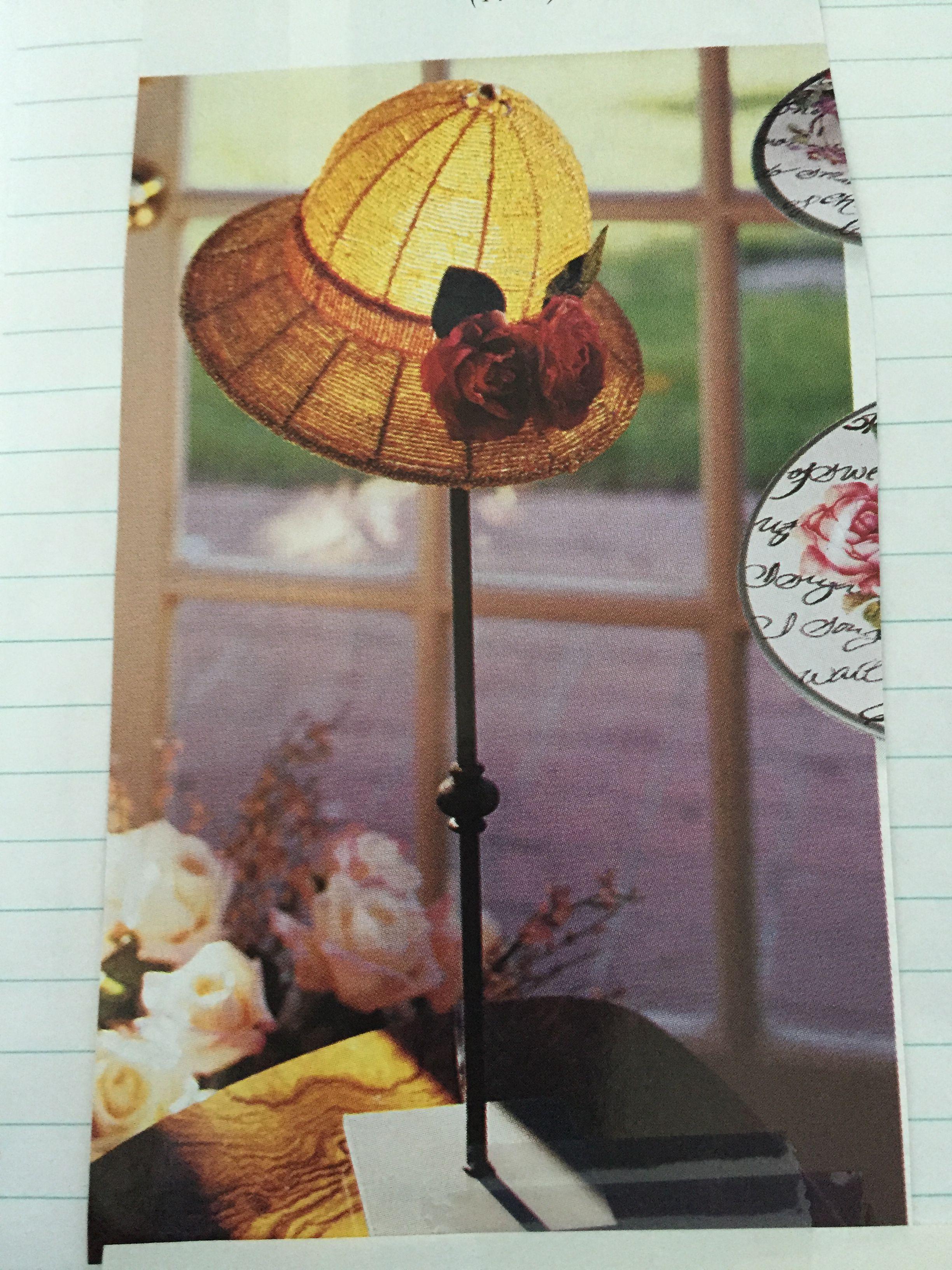 Vintage Woman S Hat Lamp Shades Paper Lamp Lamp