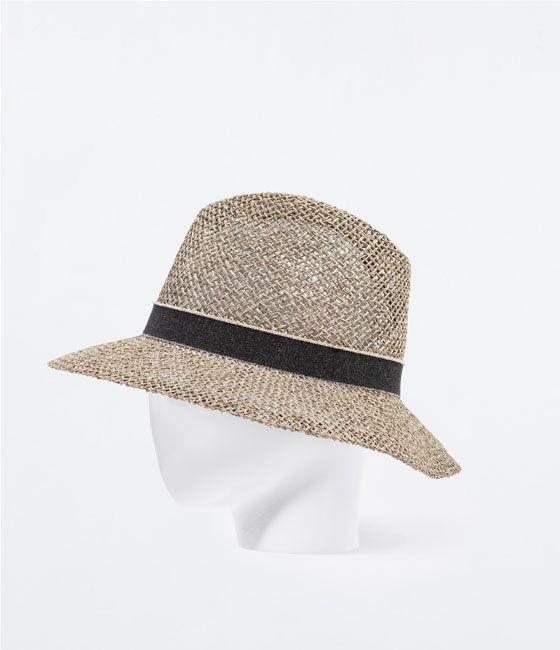 ZARA - WOMAN - STRAW HAT