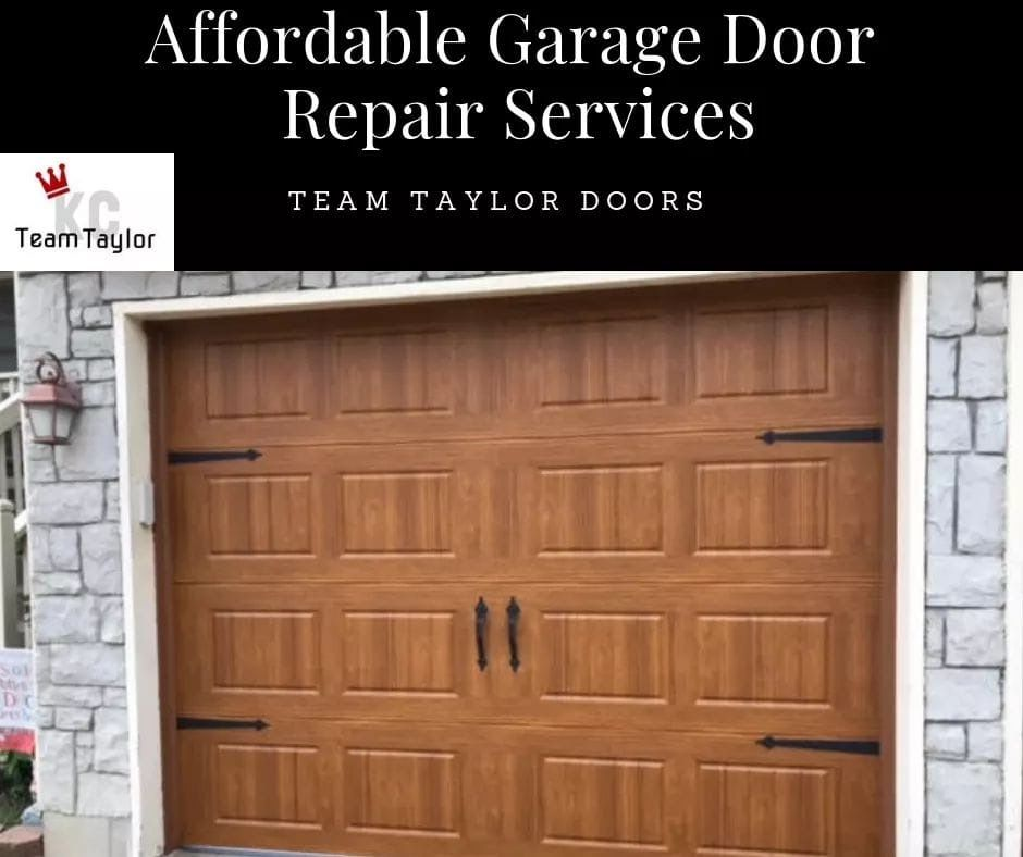 We Offer Affordable Same Day And Emergency Garage Door Repair
