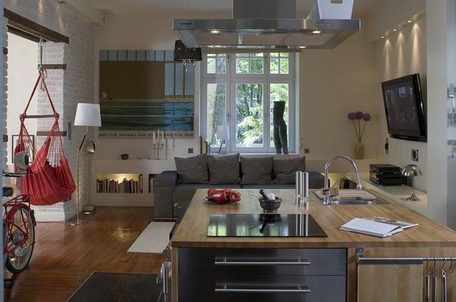 Kuchnia Otwarta Jak Urządzić Kuchnię Połaczoną Z Salonem