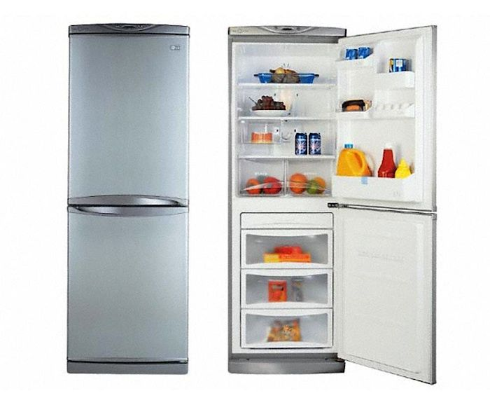 Lg Lrbp1031 Counter Depth Bottom Freezer Refrigerator Small Refrigerator Small Fridges Tiny Kitchen