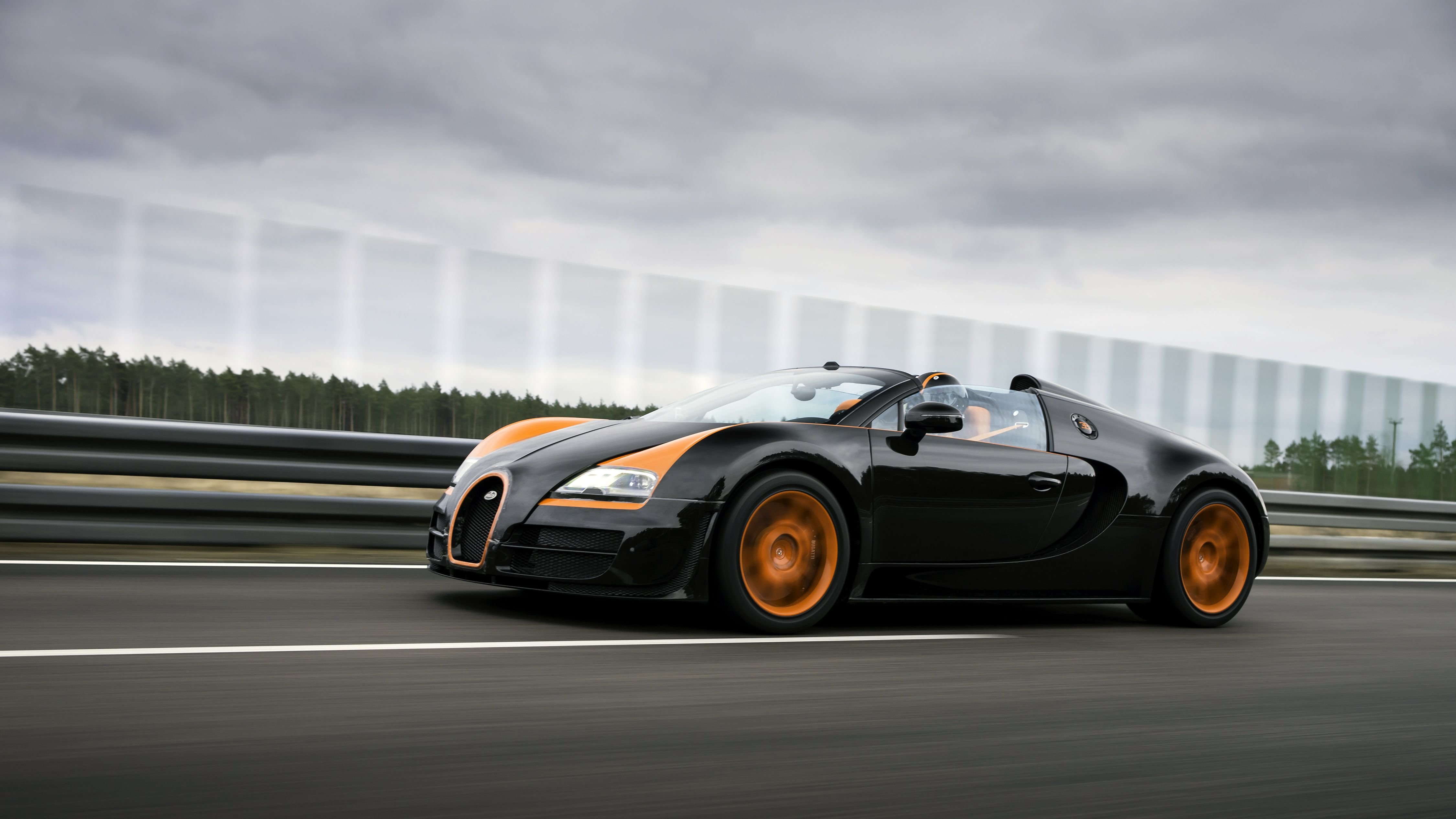 Charming Bugatti 16.4 Veyron Grand Sport Vitesse World Record Car 2013