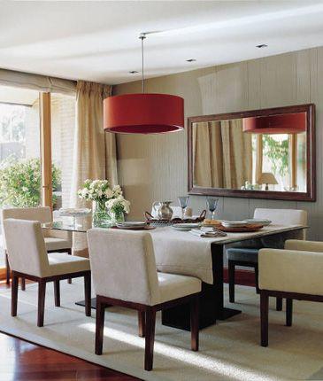 espejos decorativos comedores modernos diseo tradicional comensales lmparas colgantes canciones salones velas hogar