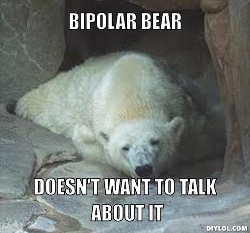 Bipolar Memes Bipolar Bear Meme Generator Bipolar Bear Doesn T