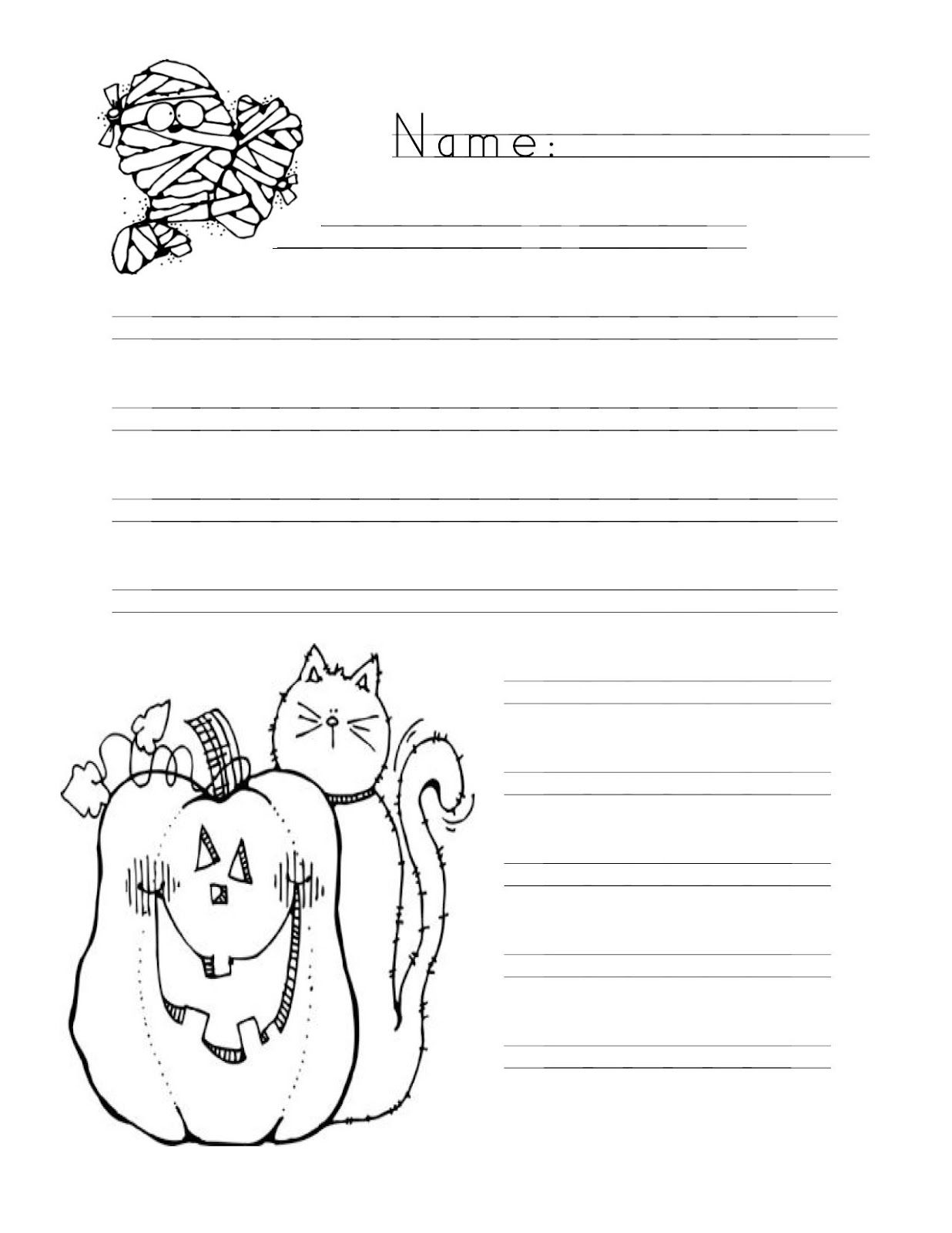 Handwriting Without Tears Paper For Halloween Handwriting Without Tears Handwriting Paper Lined Paper [ 1600 x 1236 Pixel ]