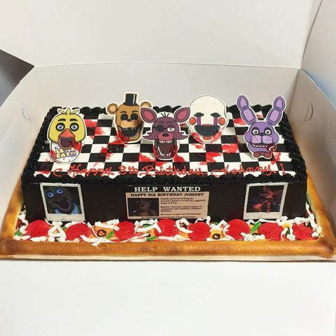 Five Nights At Freddy S Cake Walmart
