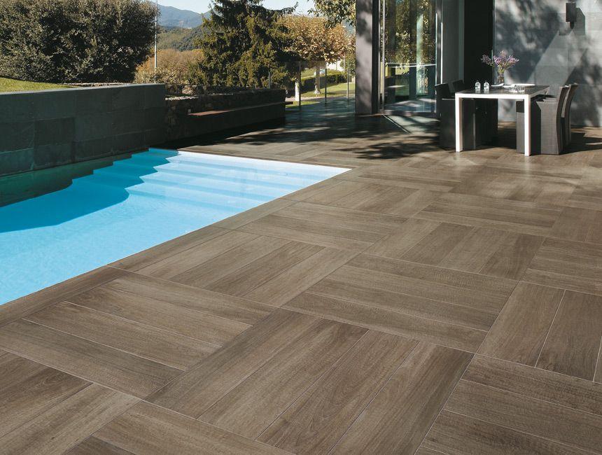 Italian Wall And Floor Wood Looking Tile. To