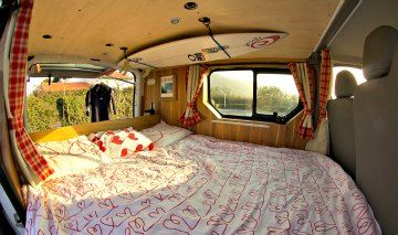 Travel Van Bed - When we're retired and the kids are all grown up!