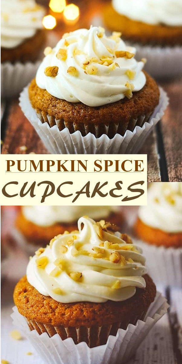 PUMPKIN SPICE CUPCAKES #pumpkinspicecupcakes PUMPKIN SPICE CUPCAKES #cupcakerecipes #pumpkinspicecupcakes