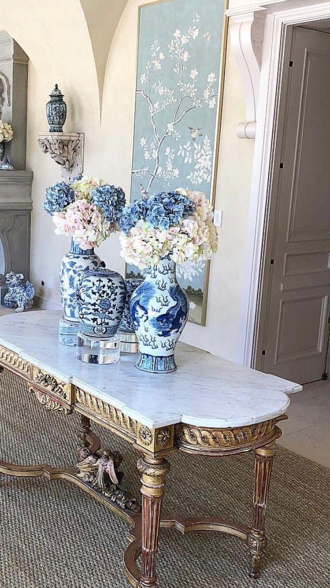 Pin by Petite Shopper on Blue & White Home decor, Iron