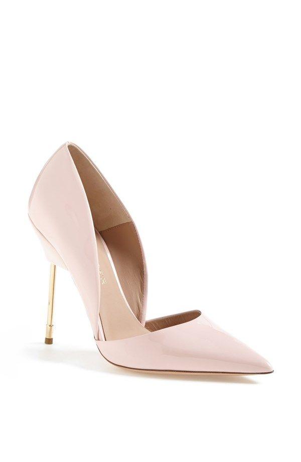 Pale Pink Patent Pumps | Heels, Shoes