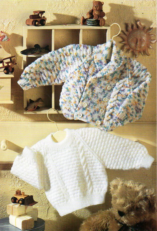 be7aa3344800 baby cable cardigan sweater knitting pattern pdf shawl coller jacket ...