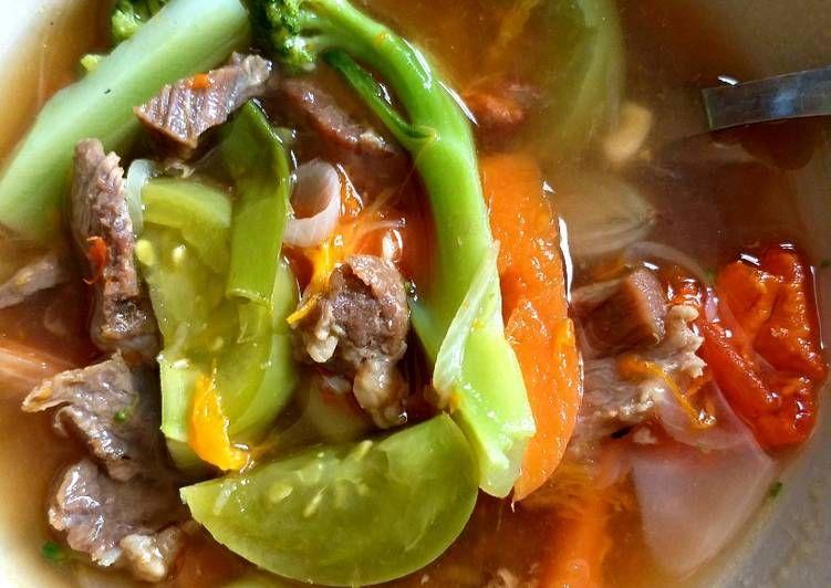 Sop Daging Sapi Enak Super Simple Daging Sapi Resep Masakan Masakan