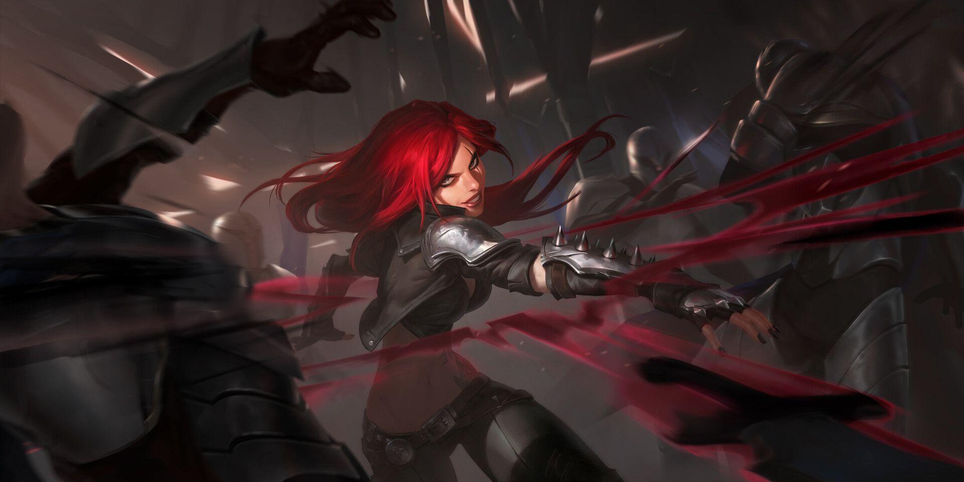 Katarina Level 2 Legends Of Runeterra By Monika Palosz League