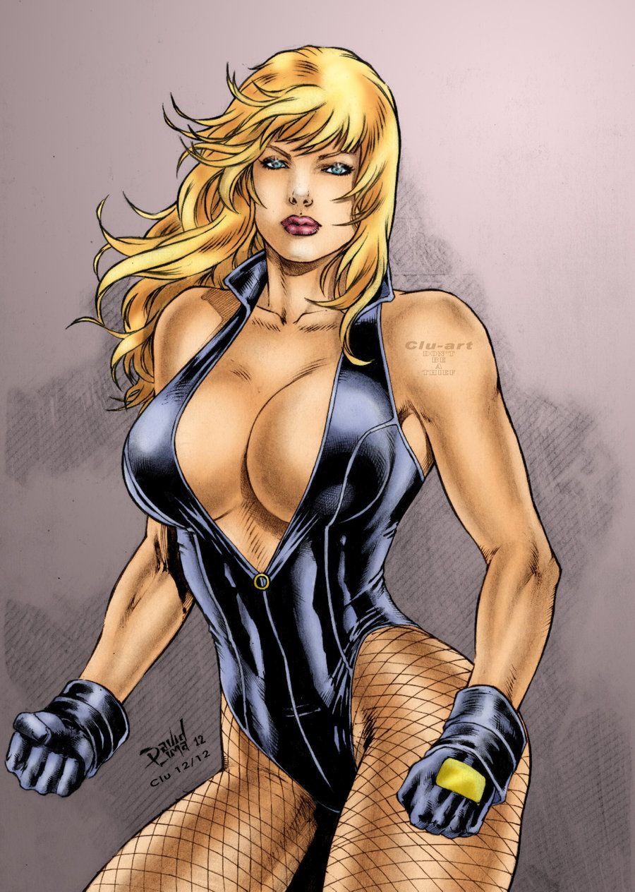 Black canary erotic