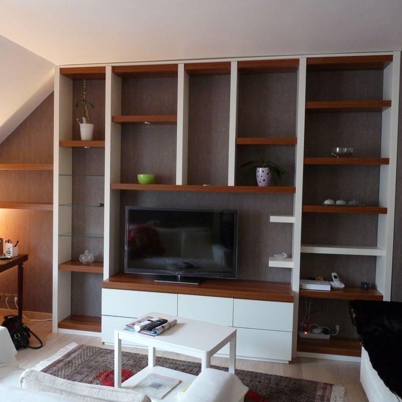 pingl par rangeocean sur agencement de salon pinterest biblioth que moderne salon. Black Bedroom Furniture Sets. Home Design Ideas