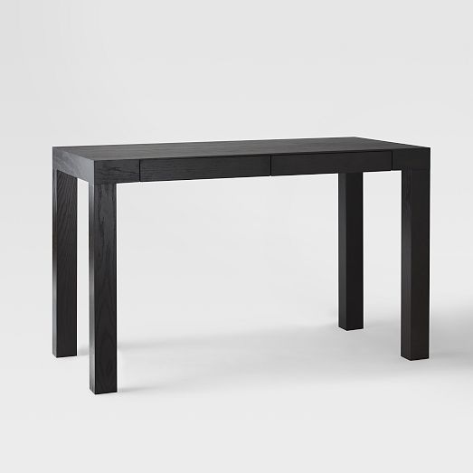 Parsons Desk With Drawers Chocolate West Elm Sac Ff 007 06