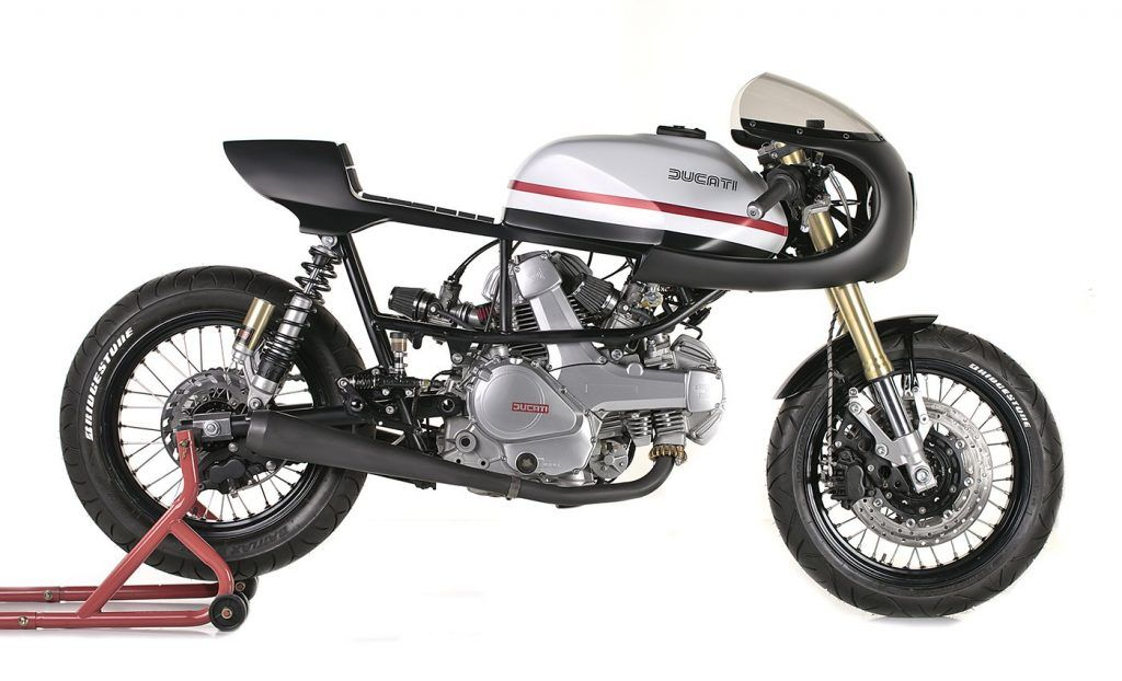 Ducati Pantah 350 Cafe Racer By Capelos Garage