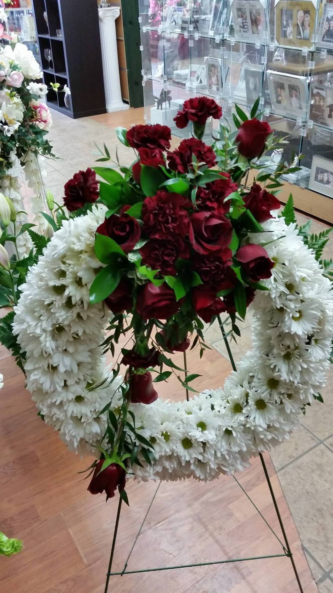 We offer beautiful selections of funeral and sympathy