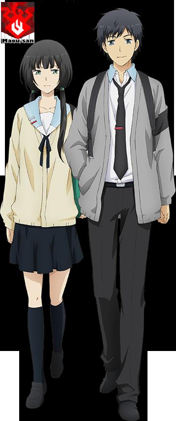 Relife Hishiro & Arata Anime Pinterest Anime