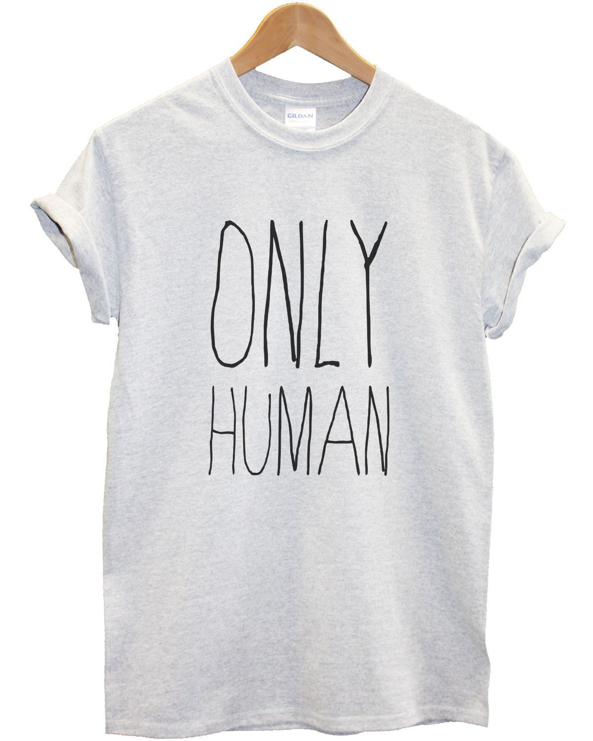 Design t shirt girl - Tumblr Girl T Shirt Designs Only Human T Shirt Top