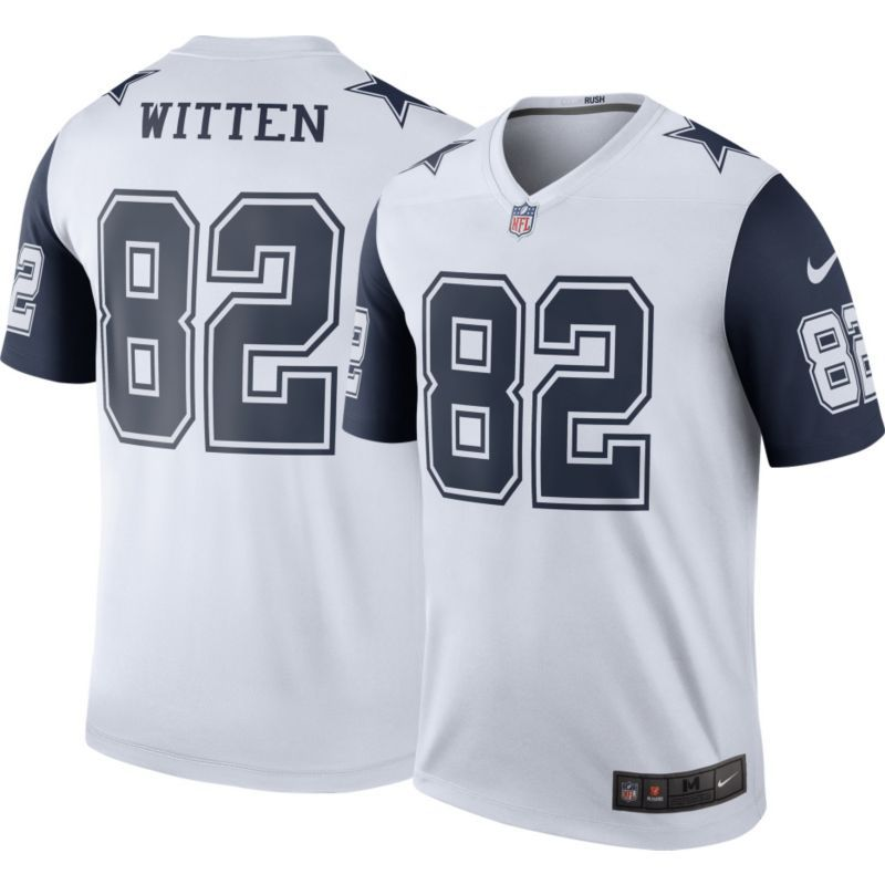 Nike Men s Color Rush 2016 Dallas Jason Witten  82 Legend Game Jersey a9b0d6d93
