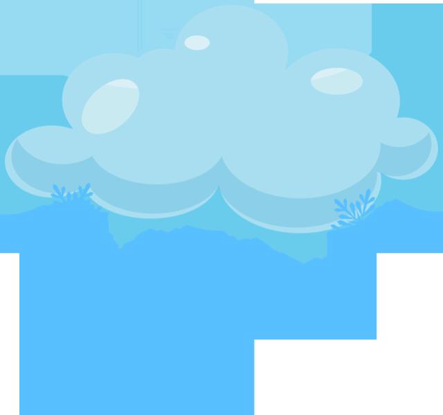 Снежная туча картинка для детей
