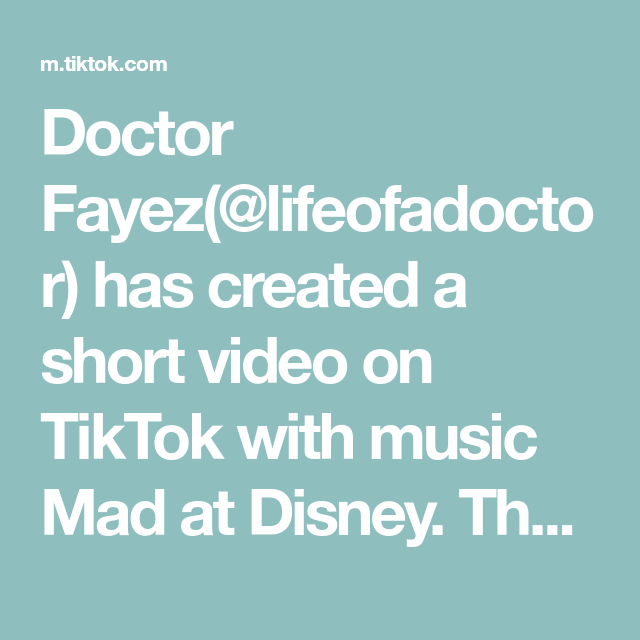 Doctor Fayez Lifeofadoctor Has Created A Short Video On Tiktok With Music Mad At Disney The Perfect Loop For Your Satisfac Suture Techniques Doctor Rasputin