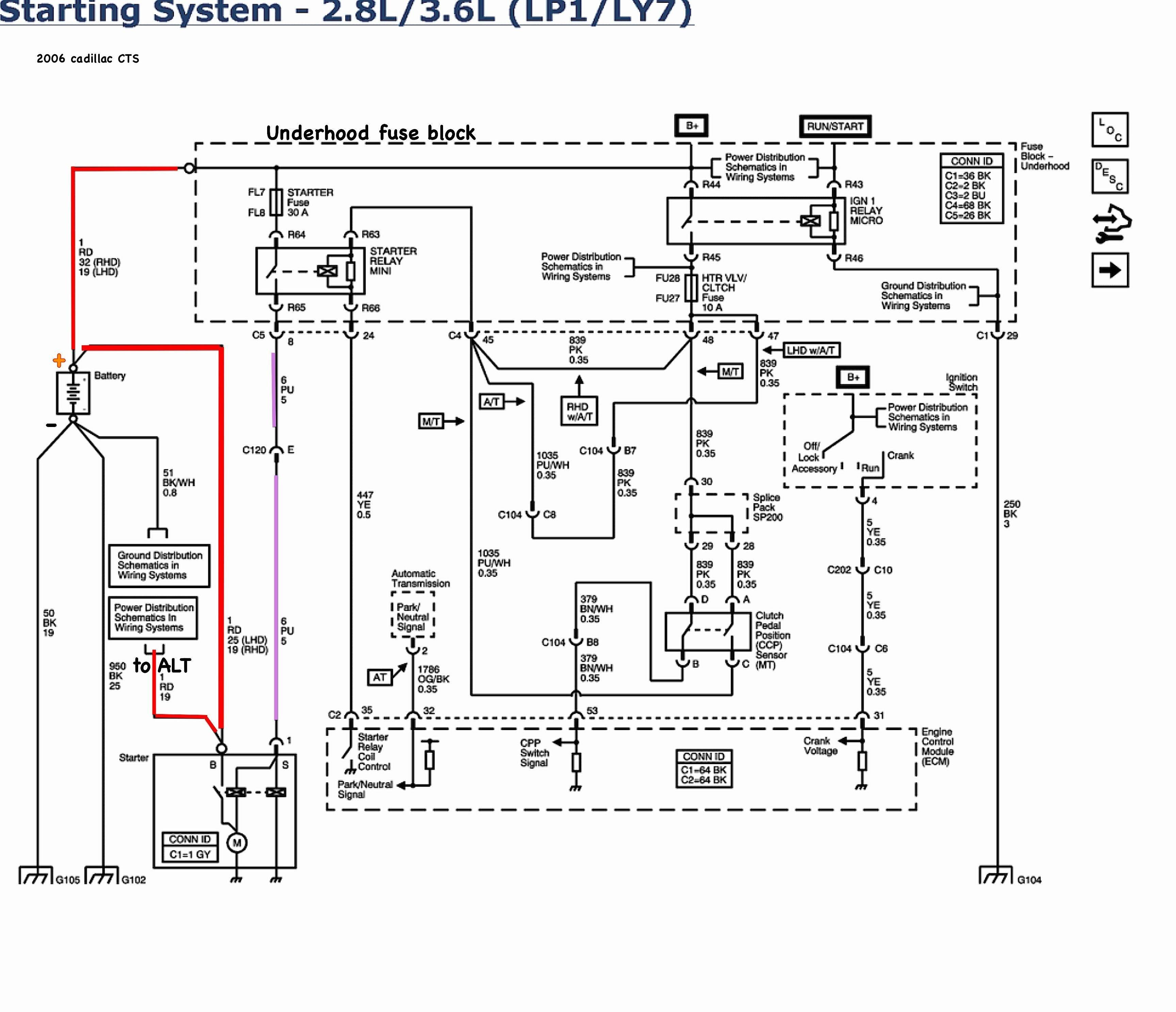 C5 Corvette Horn Wiring Diagram
