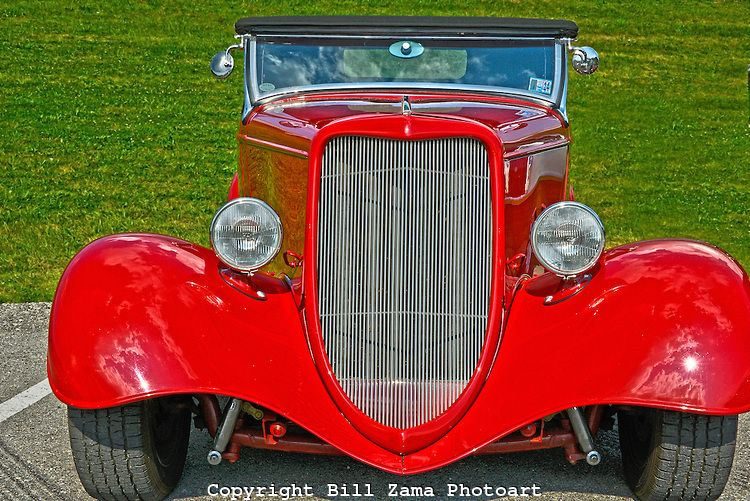 Beautiful Vintage Roadster At Custom Car Show At Mineral Beach In - Pittsburgh custom car show