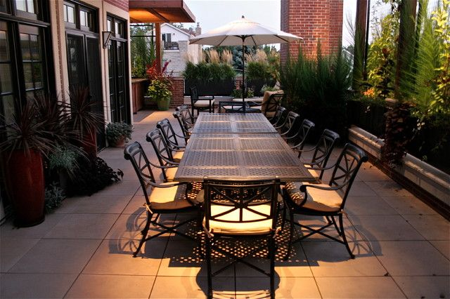 Extra Long Dining Table Outdoor Design Ideas, Pictures, Remodel And Decor
