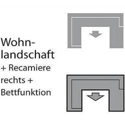 Photo of Domo collection Wohnlandschaft Domo Polstermöbel
