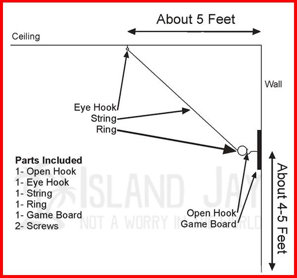 Make Your Own Hook U0026 Ring Toss Game This Kit Is Ideal To Make Your Own
