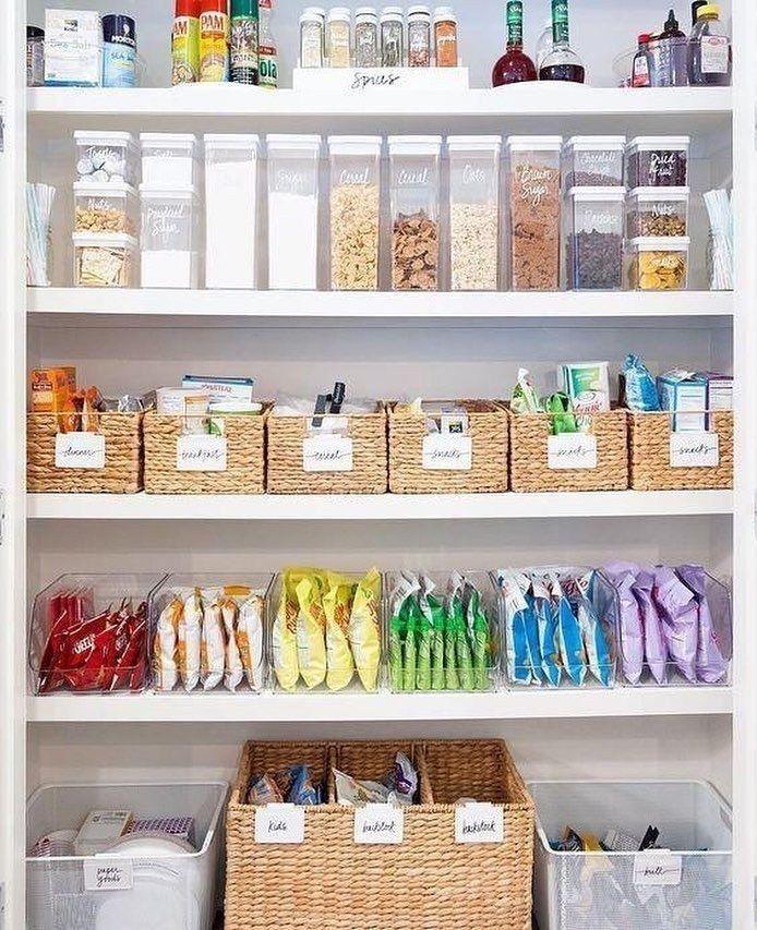 52 Kitchen Organization Ideas You Wish You Had #kitchenideas #kitchenorganization
