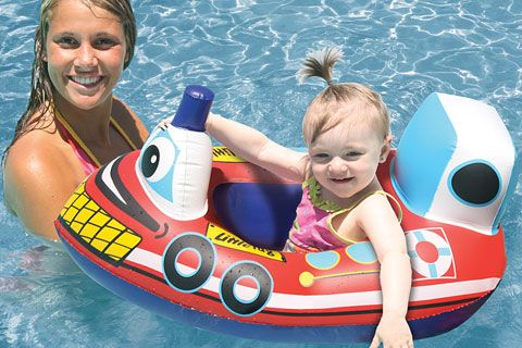 Tugboat Baby Float 121001