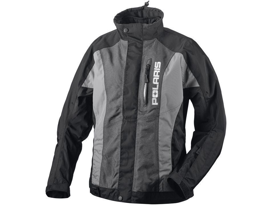 POLARIS Womens Black/Gray Throttle Jacket 2865022